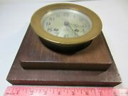 1926 Chelsea Automatic Shipand039s Bell Clock Strike Antique Master Boston Ma Yacht