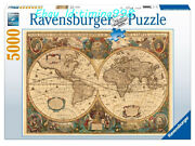 Collection Jigsaw Ancient World Map Art 5000 Puzzles Rare New Sealed In Stock