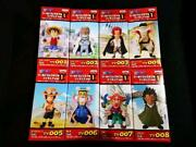 One Piece World Collectible Vol. 1 Figure Set Of 8 From Japan Free Shipping