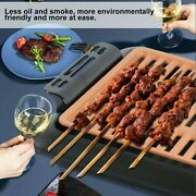 Electric Grill Outdoor Bbq Skewers Barbecue Machine Electric Grill Pan