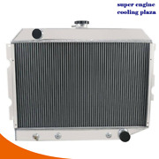 4row Aluminum Radiator Fit 1968-1974 Dodge Plymouth Small Block 26 Wide Core