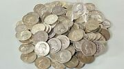 Washington Quarters 90 Silver Lot Of Five Sharp Details From Bank Rolls