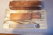 Schrade Old Timer Vintage Pat.pend.honesteel Hs1 Made In The Usa Never Used