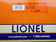 O Scale Lionel6-39085 Freedom Train Heavyweight 3-pack Passenger Exhibit Cars