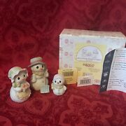 Precious Moments 2000 730114 We're A Family That Sticks Together New In Box