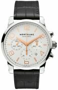 Timewalker Chronograph Automatic 43mm Steel Luxury Menand039s Watch 101549