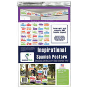 Inspired Minds 523cs30s Poster Set 30 Posters Spanish