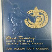 Vtg 1961 Basic Training Us Army Yearbook Fort Jackson Sc Company D 7th Battalion