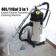 40l Portable Multifunctional Carpet Cleaning Machine Vacuum Cleaner Extractor