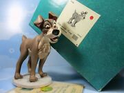 Wdcc Lady And The Tramp Tramp In Love 41090 In Box Coa Disney