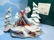 Wdcc Peter And The Wolf Nestled In The Snow Figurine 41211 Enchanted Places Box