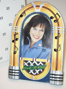 Jukebox Rockand039n Roll Picture Frame Classic Bubbler Nostalgic Juke 50and039s Diner Nos