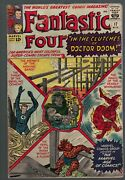 Marvel Comics 17 Vg- 3.5 Fantastic Four 1963 Defeated By Dr Doom