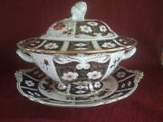 Royal Crown Derby Traditional Imari 2451soup Tureen And Underplate
