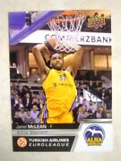 2015-16 Upper Deck Turkish Airlines Euroleague Intand039l Auto Base /49 - Pick Player