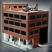 Limited Edition One Police Plaza Building Operating Helicopter O Gauge Scale