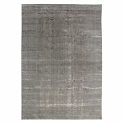 9and03910x14and0391 Fine Jacquard Hand Loomed Modern Wool And Art Silk Oriental Rug R58018
