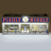 Limited Edition Piggly Wiggly Grocery Store Building Accessory O Gauge Scale