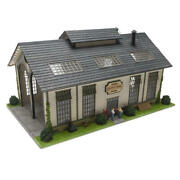 Limited Edition Cripple Creek Engine Works O Gauge Scale Building Shed House
