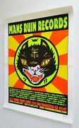 Man's Ruin Records Poster Kozik Signed Numbered Edition 1995 22.5 X 17.5