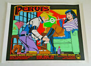 Pervis Poster Kozik Signed And Dedicated Numbered Edition 1995 22.5 X 17.75