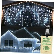 Christmas Lights Outdoor Decorations 1216 Led 99ft 1216 Led 98 Foot Cool White