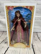 Disney Winter Belle Beauty And The Beast 17 Limited Edition Doll New 1 In 5000
