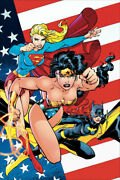 Jim Lee Heroines Of The Dc Universe Giclee On Canvas 19.5x35