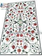 Marble Coffee Table Top Inlaid Pietra Dura Art   Luxury Table Top   Furniture