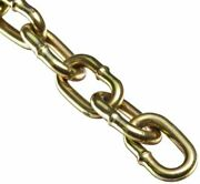 Campbell 0723367 Low Carbon Steel Straight Link Machine Chain On Reel Brass G...
