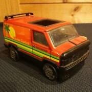 Vintage Tonka Tin Toy Minicar About 21 Cm Made In Usa From Japan