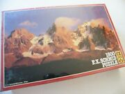 Dawn In The High Mountains Fx Schmid Jigsaw Puzzle 1500 98411.6 West Germany
