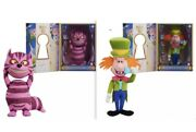 D23 Alice In Wonderland 70th Limited Plush Cheshire Cat And Mad Hatter In Hand