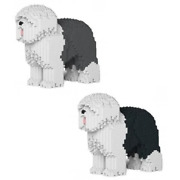 Build Your Own Old English Sheepdog Gift Premium Puzzle Game Toy