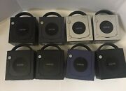 42 Huge Gamecube Lot Of Games 8 Gamecubeandrsquos 7 Controllers 4 Memory Cards
