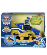Paw Patrol Mighty Pups Charged Up Chase Charged Up Transforming Vehicle New