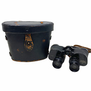 Vintage Wwii 1943 Dated Universal Camera Corp M6 Binoculars 6x30 B And L Case