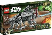 Lego Star Wars At-te 75019 New And Factory Sealed