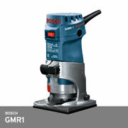 Bosch Gmr1 Professional Palm Mini Router Trimmer 85oz 33000 Rpm Corded / 220v