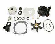 Full Power Plus Water Pump Repair Kit Replacement With Housing For Johnson Ev...