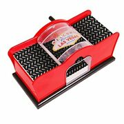 Card Shuffler For Blackjack Uno Poker Quiet Easy To Use Manual Card