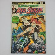 Red Sonja She Devil With A Sword Marvel Feature 1975 Comics 1st Issue Bronze Age