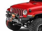 Barricade Trail Force Hd Front Bumper And Led Lights Fits Jeep Wrangler 2018-2020