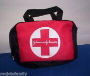 Lot 180 New Johnson And Johnson Zippered First Aid Emergency Kit Bags Compartments