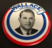 George Wallace For President Political Campaign Pin Pinback Button