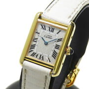 Must Tank Sm 2415 2004 Christmas Limited Vermeil Watches Silver925/...