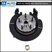Complete Wheel Hub Bearing And Steering Knuckle Assembly Rh For Ford Mercury Suv