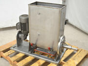 Nord 1.5-hp 3ph Stainless Steel Food Grade Auger-mixer Bottom-discharge 230/460v
