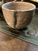 Mccartyandrsquos Pottery Nutmeg Cup/ Bowl Mississippi Handmade Ms Mud