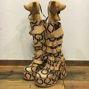 Vivienne Westwood Boots Squiggle Size 37 Rare Japan